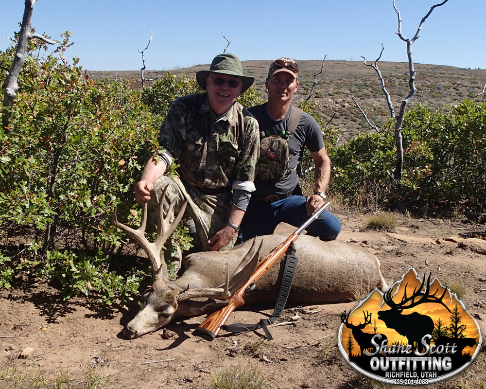 Utah LE Deer Book Cliffs Muzzleloader Hunt